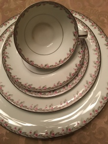 my paternal grandmother's china